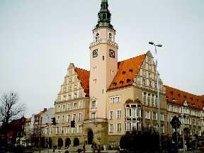 Allenstein Polen Rathaus