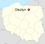 Allenstein Reiseführer Polen