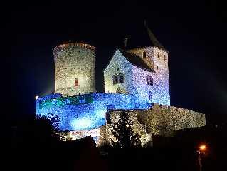 Bedzin Polen Burg in Będzin