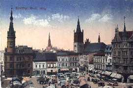 Beuthen Polen Beuthen um 1910