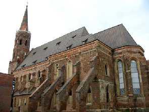 Glogau Polen Der Dom St. Maria