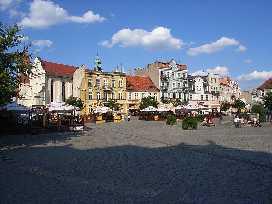 Gniezno Polen Markt in Gniezno