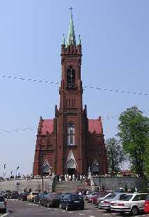 Görnau Polen Kirche der Heiligen Katharina von Alexandrien