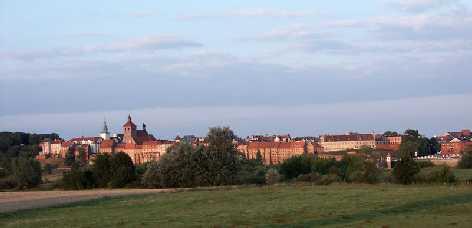 Graudenz Polen Panorama der Altstadt