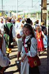Kaschubei Polen Traditionelle Kleidung