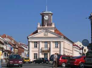 Konin Polen Das Rathaus