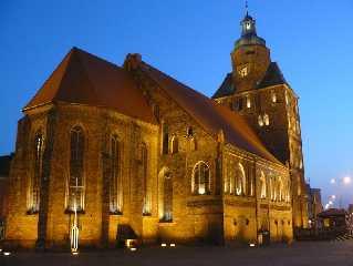 Landsberg an der Warthe / Gorzów Wielkopolski Polen Dom St. Marien