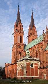 Leslau / Wloclawek Polen Kathedrale von Włocławek