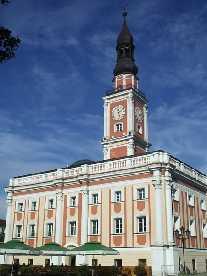 Lissa / Leszno Polen Rathaus von Leszno im Jahre 2004