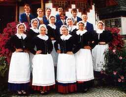 Niederschlesien Polen Eine niederschlesische Tracht