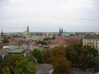 Oppeln / Opole Polen Blick auf Oppeln