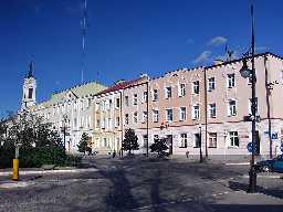 Ostrolenka Polen Rathaus von Ostroleka (2007)