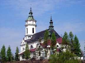 Ostrowiec Swietokrzyski Polen Kirche St. Michael