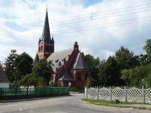 Przytór Polen Kirche von Przytór
