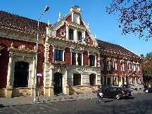 Ruda Slaska Polen Das ehemalige Kulturhaus in Ruda