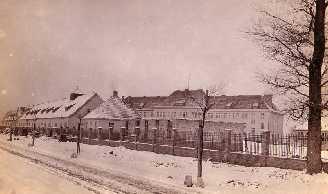 Schneidemühl / Pila Polen preussische Kaserne der Fliegerersatzabteilung 2 in Schneidemühl 1915