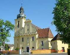 Tarnau / Tarnów Polen Pfarrkirche St. Martin