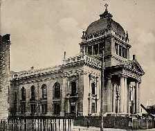 Tschenstochau / Czestochowa Polen klassizistische Synagoge