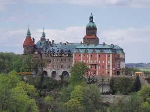Waldenburg / Walbrzych Polen Schloss Fürstenstein