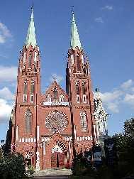 Warthenau / Zawiercie Polen Kirche in Zawiercie