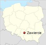 Warthenau / Zawiercie Reiseführer Polen