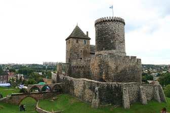 Zaglebie Dabrowski Polen Będzin, mittelalterliche Burg
