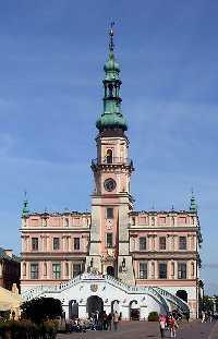 Zamosc Polen Rathaus